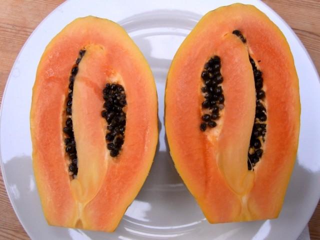 Papaya_Laengsschnitt