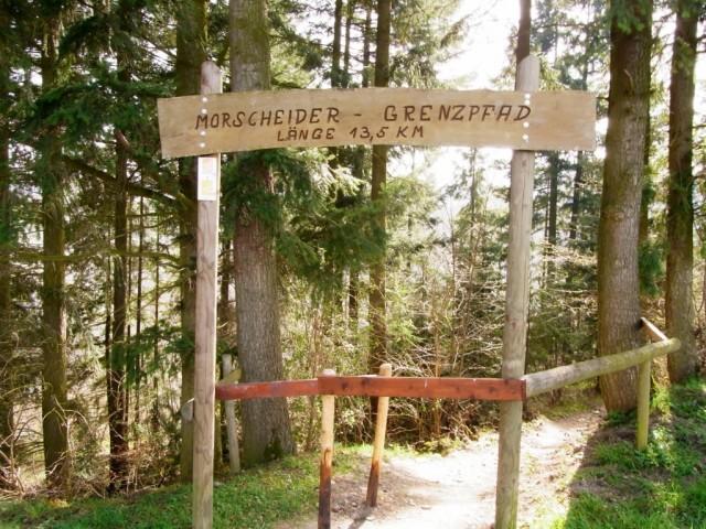 Schild_Morscheider_Grenzpfad