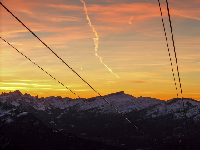 Nebelhornbahn_Abendhimmel