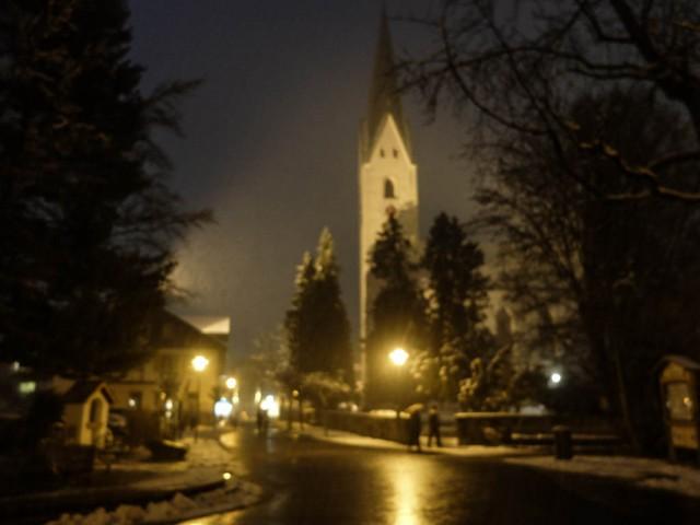 Oberstdorf_Kirche_Abendstimmung