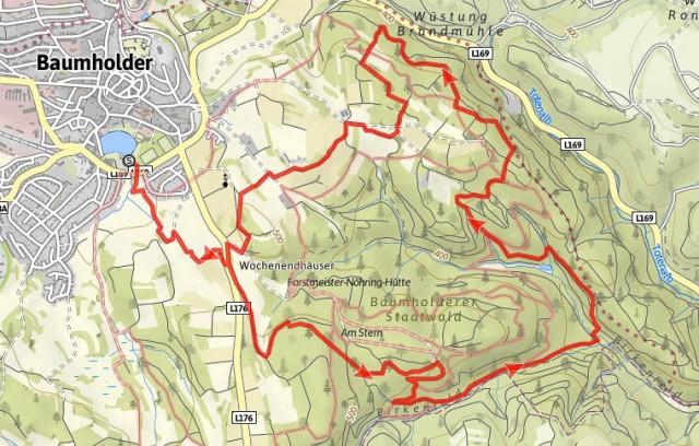 Karte_Traumschleife_Baerenbachpfad