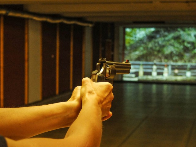 Pistolenschiessen