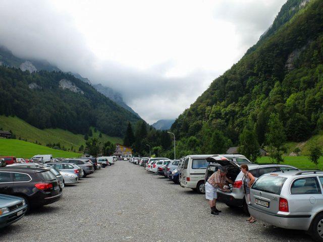 Wasserauen_Parkplatz