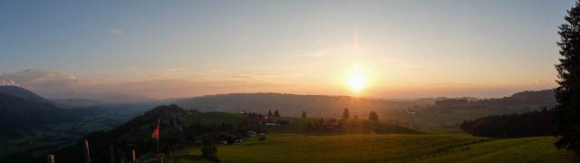 Panorama_Sonnenuntergang