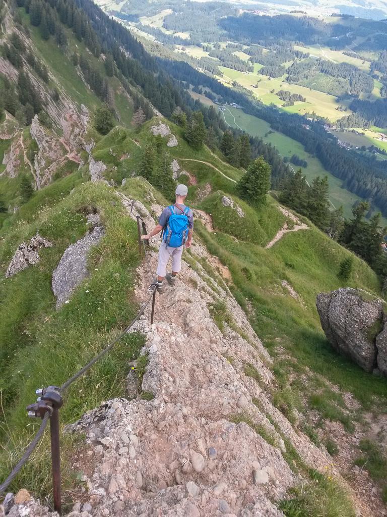 Vom Hochgrat zum Mittagberg, eine Gratwanderung – Susannes Rohkost ...