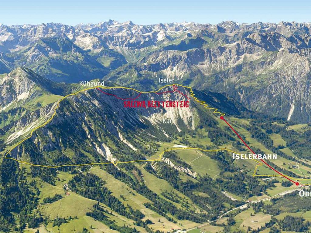 Klettersteig Salewa : Salewa klettersteig bergführer allgäu iseler hindelanger